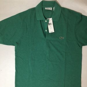 Lacoste Men Classic Green Polo. Size S Eur 3.